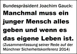 Gauck Sicherheitskonferenz