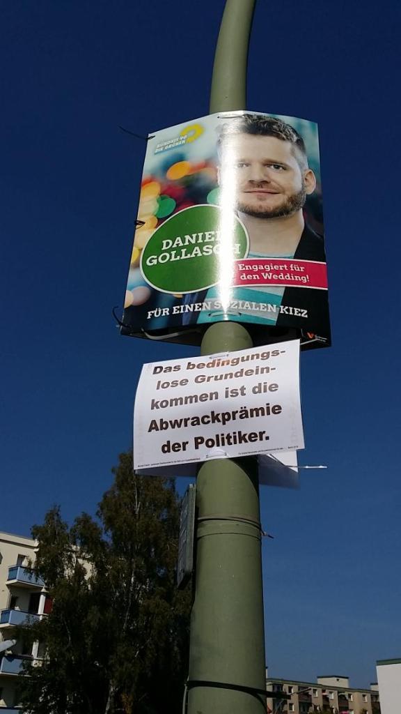 Sprüche Ab-Wahlplakat
